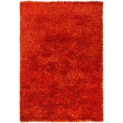 Raminez Red Area Rug Rug Size: Rectangle 5 x 76