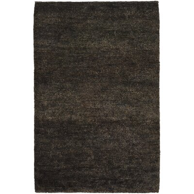 Petersham Black/Gray Area Rug Rug Size: Rectangle 5 x 76