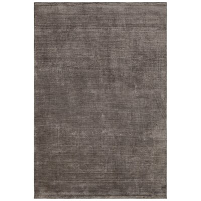 Devonta Hand-Woven Brown Area Rug Rug Size: Rectangle 79 x 106