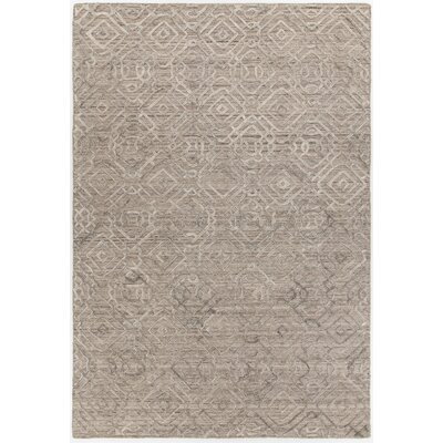 Terri Hand-Woven Brown Area Rug Rug Size: Rectangle 79 x 106