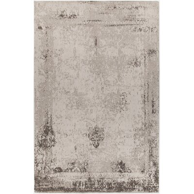 Paquet Hand-Woven Beige Area Rug Rug Size: Rectangle 79 x 106