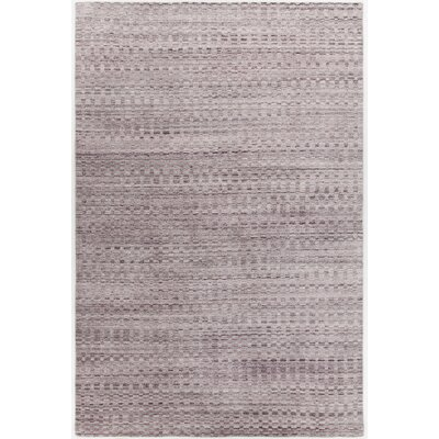 Hernan Hand-Woven Pink Area Rug Rug Size: Rectangle 5 x 76