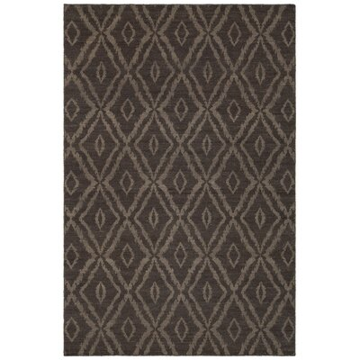 Jones Hand-Woven Wool Brown/Beige Area Rug Rug Size: 79 x 106