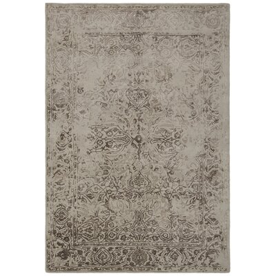 Pappalardo Hand-Tufted Beige Area Rug Rug Size: Rectangle 79 x 106