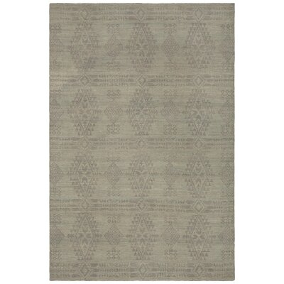Daria Hand-Woven Wool Brown/Beige Area Rug Rug Size: Rectangle 79 x 106