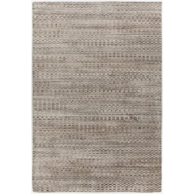 Hernan Hand-Woven Brown Area Rug Rug Size: Rectangle 79 x 106