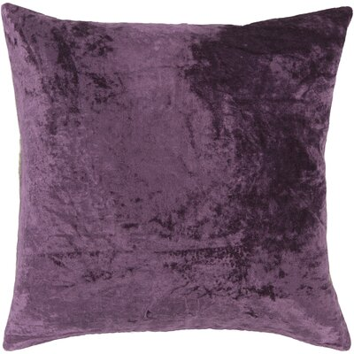 Evonne Handmade Contemporary Throw Pillow Size: 22 H x 22 W, Color: Purple