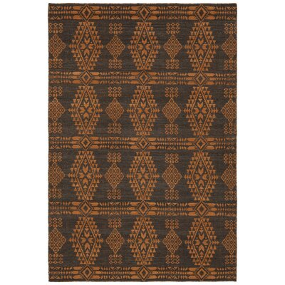 Daria Hand-Woven Wool Orange Area Rug Rug Size: Rectangle 79 x 106