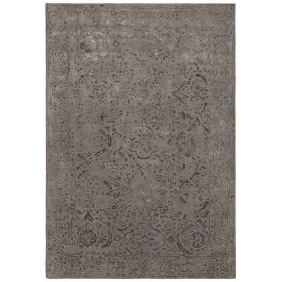 Pappalardo Hand-Tufted Beige/Brown Area Rug Rug Size: 79 x 106