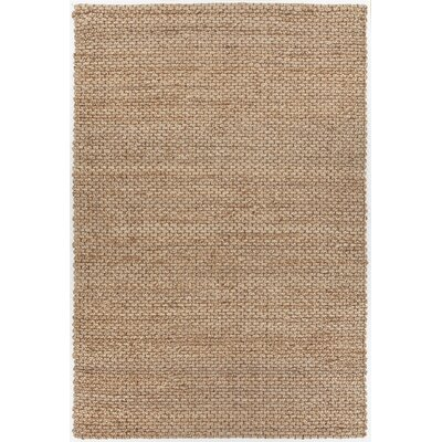 Morrison Hand-Woven Light Brown Area Rug Rug Size: Rectangle 79 x 106