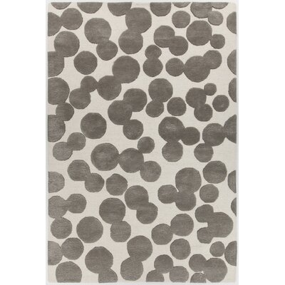 Augustus Hand-Tufted Brown/Beige Area Rug Rug Size: Rectangle 5 x 76