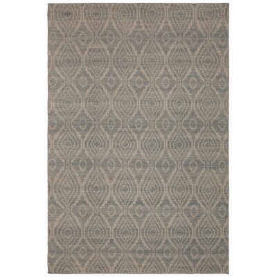 Jones Hand-Woven Wool Beige Area Rug Rug Size: Rectangle 79 x 106
