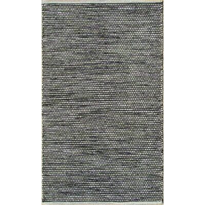 Parker Hand-Woven Gray Area Rug Rug Size: Rectangle 79 x 106