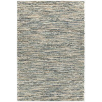 Camacho Hand-Woven Gray/Cream Area Rug Rug Size: Rectangle 5 x 76