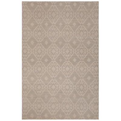 Denise Hand-Woven Wool Beige Area Rug Rug Size: Rectangle 79 x 106