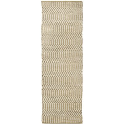Kateryna Beige Area Rug Rug Size: Runner 26 x 76