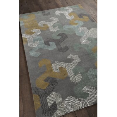 Brianne Hand Woven Rug Rug Size: 79 x 106