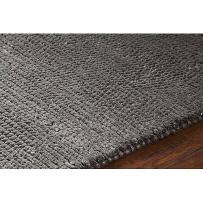 Mae Hand-Woven Brown Area Rug Rug Size: 79 x 106