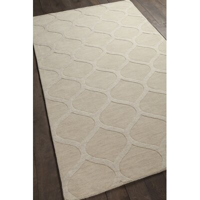 Mystica Hand-Tufted Ivory Area Rug Rug Size: 8 x 11