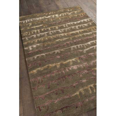Navyan Brown Area Rug Rug Size: 79 x 106