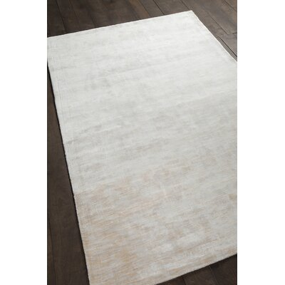 Leet Solid Ivory Area Rug Rug Size: 79 x 106