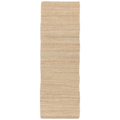 Bardette Brown Solid Area Rug Rug Size: Runner 26 x 76