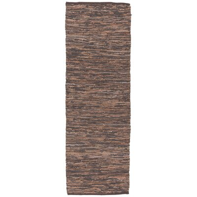 Saket Brown Area Rug Rug Size: Runner 26 x 76