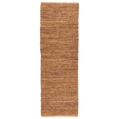 Saket Tan Area Rug Rug Size: Runner 26 x 76