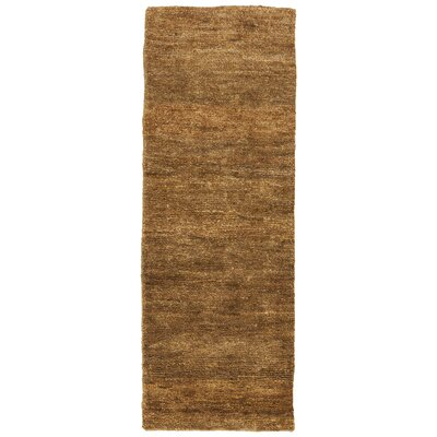 Urbana Brown/Tan Area Rug Rug Size: Runner 26 x 76