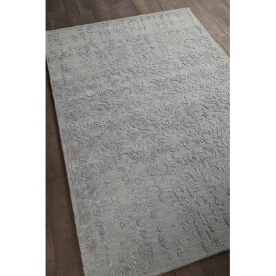 Xia Hand-Tufted Gray Area Rug Rug Size: 9 x 13