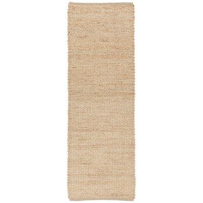 Politte Tan Area Rug Rug Size: Runner 26 x 76