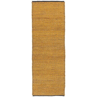 Zola Floral Brown Area Rug Rug Size: Runner 26 x 76