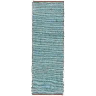 Zola Seafoam Area Rug Rug Size: Runner 26 x 76