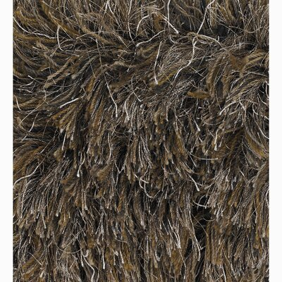 Acron Brown/Tan Area Rug Rug Size: 79 x 106