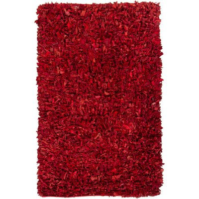 Art Red Area Rug Rug Size: 36 x 56