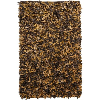 Art Gold/Yellow Area Rug Rug Size: Runner 2 x 76