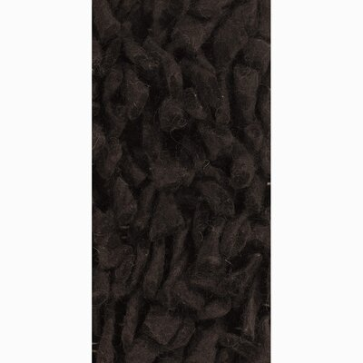 Azzura Dark Black/Gray Area Rug Rug Size: 2 x 3