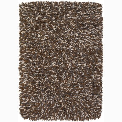 Freddie Brown/Tan Area Rug Rug Size: Rectangle 5 x 76