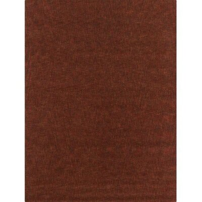 Barnaby Rust Rug Rug Size: 16 x 23