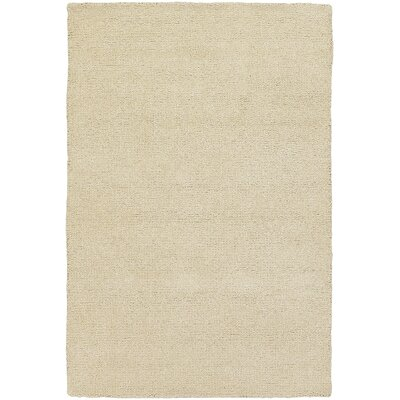 Barnaby White Rug Rug Size: Rectangle 16 x 23