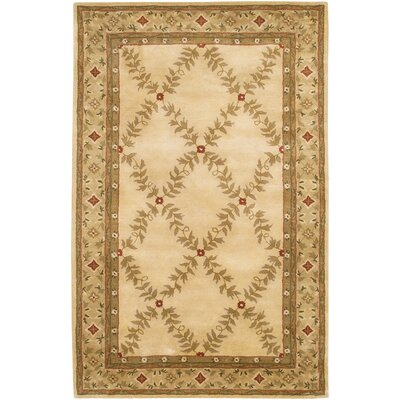Dream Ivory Area Rug Rug Size: 79 x 106