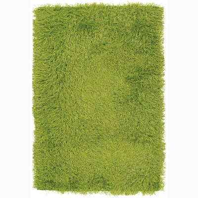 Duke Green Area Rug Rug Size: 79 x 106