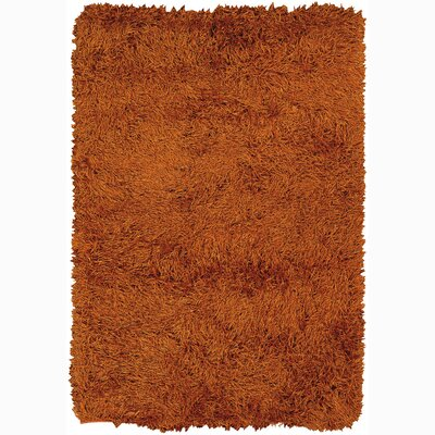Duke Brown Solid Area Rug Rug Size: 5 x 76