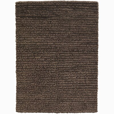 University Place Wool Brown Area Rug Rug Size: 9 x 13