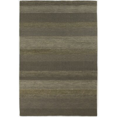 Shauna Green Stripe Area Rug Rug Size: Rectangle 6 x 9