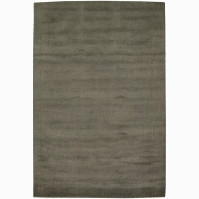 Yiman Gray Solid Area Rug Rug Size: Rectangle 79 x 106