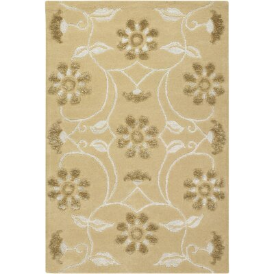 Giorgio Brown/Tan Area Rug Rug Size: Rectangle 5 x 76
