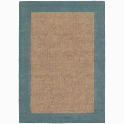 Hickory Border Green/Yellow Area Rug Rug Size: 5 x 76