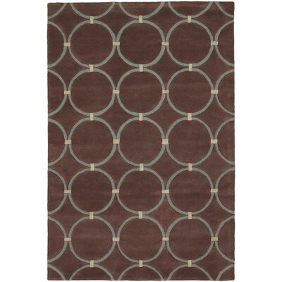 INT Brown/Beige Area Rug Rug Size: 79 x 106