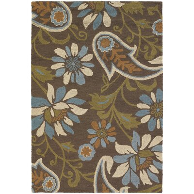 INT Flower Area Rug Rug Size: 79 x 106